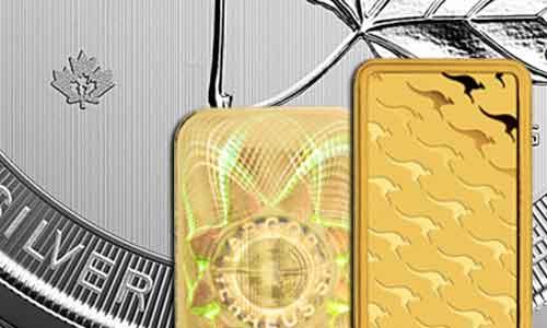Sicherheitsmerkmale von Münzen und Barren