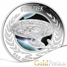 Star Trek 2016 - 31,10 g - 1 oz Silber