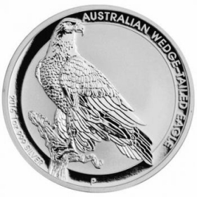Australian Wedge-Tailed Eagle - 31,10 g - 1 oz Silber
