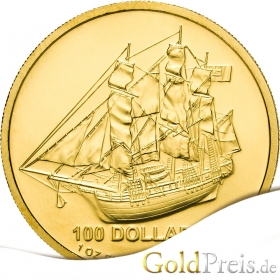 Cook Islands - 31,10 g - 1 oz Gold