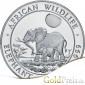 African Wildlife Elefant 2017 - 31,10 g - 1 oz