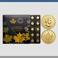 Maple Leaf - 25 x 1 g  Maplegram Gold