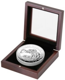 African Wildlife Elefant High Relief PP - 31,10 g - 1 oz Silber