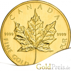 Maple Leaf - 3,11 g - 1/10 oz Gold