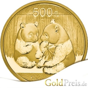 China Panda - 1,56 g - 1/20 oz Gold