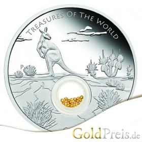 Treasures of the World Turquoise 2015 PP - 31,10 g - 1 oz Silber