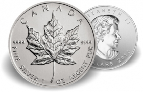Maple Leaf - 31,10 g - 1 oz Silber