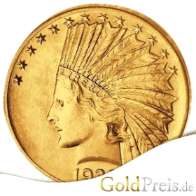 Indian Head - 3,76 g - 2,5 Dollar Gold