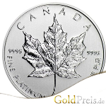 Platin Maple Leaf