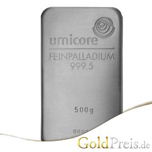 Palladiumbarren  Palladiumbarren Preis Heute für 1 g, 10g, 1oz, 50g, 100 g, 500g ...