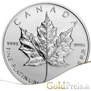 Platin Maple Leaf 1 oz