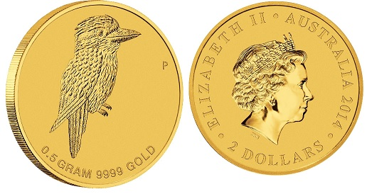 Mini Kookaburra Gold 2014