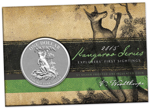 "Kangaroo Series 2015 ""Frosted Uncirculated"""