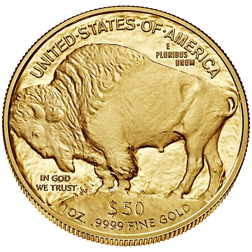 American Buffalo Proof 1 oz Wertseite