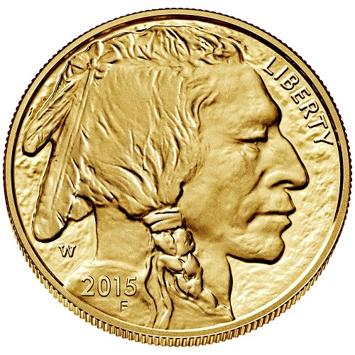 American Buffalo Proof 1 oz Bildseite
