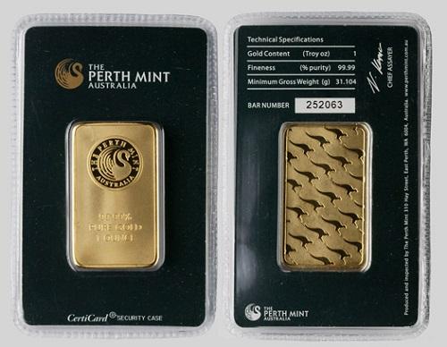 Perth Mint Warnt Vor Gef 228 Lschten Goldbarren