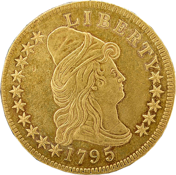 Turban Head Eagle Goldmünze 10 US-Dollar