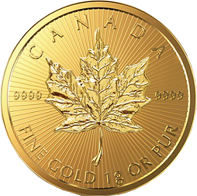 Maple Leaf Goldmünze 1 Gramm