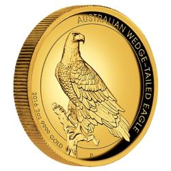 Australian Wedge-tailed Eagle Proof und High Relief
