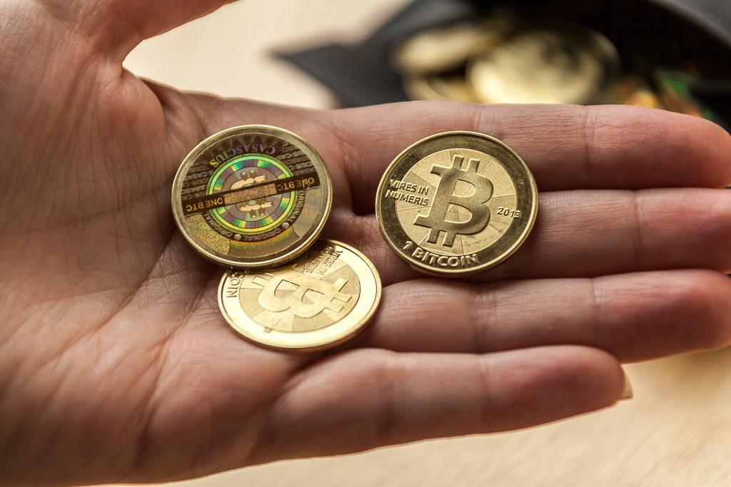 Bitcoins Aus Gold In Echt